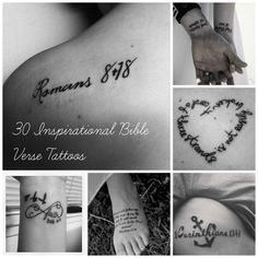love these! Community Post: 30 Inspirational Bible Verse Tattoos