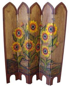 Sunflower Room Divider