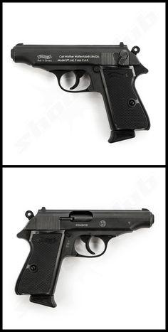 Walther PP Schreckschusspistole Kal. Walther Pp, Handgun, Firearms, A10 Warthog, Colt 45, Cool Guns, Revolver, Rifles, Tactical Gear