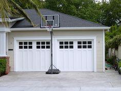2 car garage door styles craftsman   Garage Door Inspiration, Carriage Style