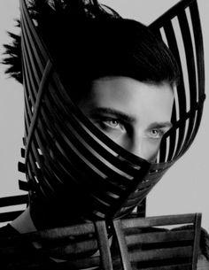 Jana Knauerová for Black Magazine Spring/Summer 2012 by Andy Eaton