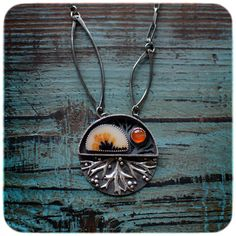 RESERVED balance  In the Woods necklace by 6shadowsjewelry on Etsy, $223.00