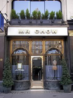 Mr Chow - Knightsbridge -LONDON UK This was my Saturday lunch spot many years ago.