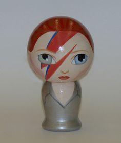 David Bowie Likeness Doll. $50.00, via Etsy.