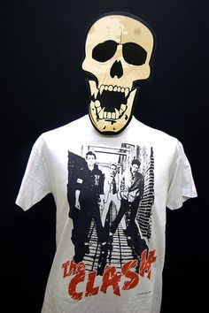 The Clash -The Clash - T-Shirt by 23tees on Etsy https://www.etsy.com/listing/212847225/the-clash-the-clash-t-shirt