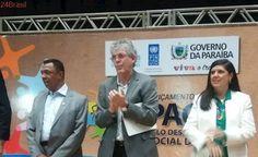 Ricardo Coutinho anuncia antecipação do pagamento e investimentos na PM durante solenidade