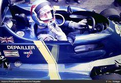 Patrick Depailler on 6-wheel Tyrrell-Ford. Zandvoort 1976
