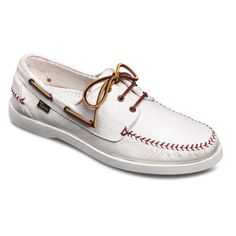 For nick.. loves boat shoes...YES YES YES! Fastball - Baseball Stitched Handsewn Casual Men's Boat Shoes by Allen Edmonds $115    Customize these shoes with your favorite team's Official MLB logo. Rubber sole men's slip-on moc-toe boat shoes with red baseball stitching on heel, unlined distressed leather upper, ridged rubber sole.