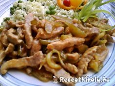 Hentes tokány Hungarian Recipes, Recipes From Heaven, Pork, Beef, Traditional, Chicken, Food Heaven, Kale Stir Fry, Meat