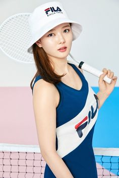 김유정, 상큼함 묻어나는 '테니스 걸' 변신 [화보]