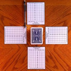 Score sheets, a deck of cards, and pencils are all that are needed for this fun decimal place value game!