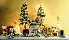 My Christmas Table. This is my first Christmas as a widow, so I decided to decorate a table in memory of my late husband and the love we shared. My First Christmas, Our Love, A Table, Husband, Memories, Stylish, Painting, Decor, Art