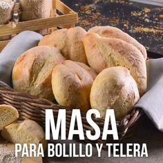 Esta receta te enseñará el paso a paso para que puedas hacer tu propio pan en casa. Aprende a hace Mexican Sweet Breads, Mexican Bread, Mexican Food Recipes, Dessert Recipes, Tasty Videos, Food Videos, Bread Recipes, Baking Recipes, Pan Dulce