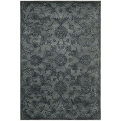 Handmade Antiquities Grey Wool Rug | Overstock.com Shopping - Great Deals on Safavieh 7x9 - 10x14 Rugs