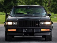 Buick GNX - My old man's dream car, I WILL buy one of these for him some day. Rat Rods, Buick Grand National Gnx, Automobile, Buick Envision, Buick Cars, Gm Car, Buick Regal, Ford, Performance Cars