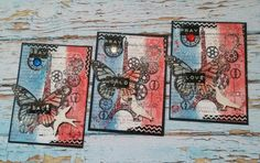 Meine Reise in der Scrapbookwelt...: *Heal The World...*  My ATC collection