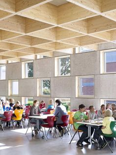 Salmtal Secondary School Canteen by SpreierTrenner Architekten, Salmtal, Germany 2012
