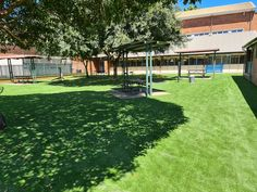 A synthetic grass job completed at Liverpool Boys High School, transforming this spot into a comfortable outdoor area. #syntheticgrass #playground #schoolyard #softfall #fakegrass #play #transform Fake Grass, Commercial Flooring, Central Coast, Wet And Dry, Pavement, Newcastle, Playground, Liverpool, Fields