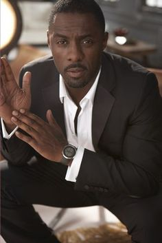 "Idris Elba    - On his taste in women:  ""You see actors with models and actresses, and it's so cliche...I'd rather date someone who's regular."""