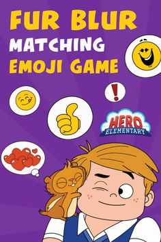 Try our Fur Blur Matching Emoji Game! 🤗🐹 Help your kids match words with different emojis - Fur Blur's special way of communication! Did you know that matching games help kids improve concentration, train visual memory, increase attention to detail, and so much more?! Science Games For Kids, Different Emojis, Printable Games For Kids, Emoji Games, Visual Memory, Improve Concentration, Matching Games, Blur, Hero