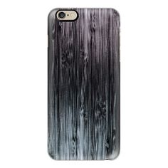 Black To White Grunge Bamboo Pattern - iPhone 7 Case, iPhone 7 Plus... ($40) ❤ liked on Polyvore featuring accessories, tech accessories, phone cases, iphone case, apple iphone case, white iphone case, iphone cases, iphone cover case and bamboo iphone case