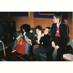 """""""Spice Girls at the Olympic recording studio 20 years ago back in 1995! ✌️ #spicegirls #girlpower #earlydays #rawspice #Baby #Scary #Ginger #Posh…"""""""