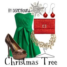 """Christmas Tree"" by lalakay on Polyvore"