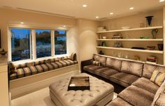 Shelves Over Sofa Design Ideas, Pictures, Remodel, and Decor