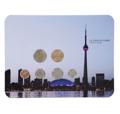 Search: 513444 - - Online Shopping for Canadians Toronto Canada, Cn Tower, Online Shopping, Coins, Note, Amp, Travel, Collection, Viajes