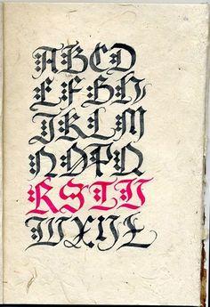 Risultati immagini per rainer wiebe kalligrafie