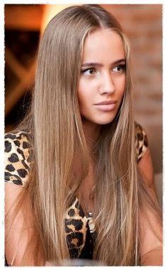 ashy brown blonde hair