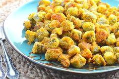 Fried okra is a staple in Texas and the south, and everyone has their own way to make it. The crust can be flour, cornmeal, or a combination of both; my grandmother used cornmeal, my mother uses mostly seasoned flour, my wife uses both at the same time. They are all good to me. In fact, I cant recall ever meeting a plate or bowl of fried okra that I didnt like. It is easy to make.