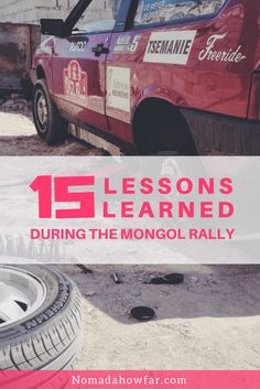 15 Lessons Learned During The Mongol Rally