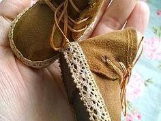 Создаем обувку для куколки | Ярмарка Мастеров - ручная работа, handmade