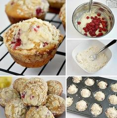 Lemon Raspberry Streusel Muffins with a lovely bright, raspberry flavor and topped with a sweet buttery streusel topping. Perfect morning treat!    Prep Time 20 minutes   Cook Time 20 minutes   Total Time 40 minutes  Ingredients  6 oz lemon yogurt
