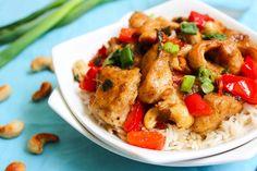 paleo guilt free cashew chicken