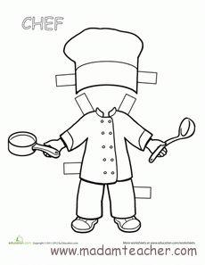 20 En Iyi Mutfak Eşyaları Görüntüsü Kid Crafts Aprons Ve Coloring