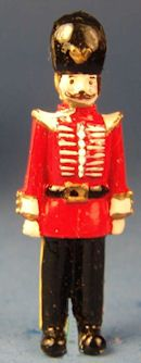 "Warwick Miniatures - hand painted 1 1/2"" metal toy soldier"