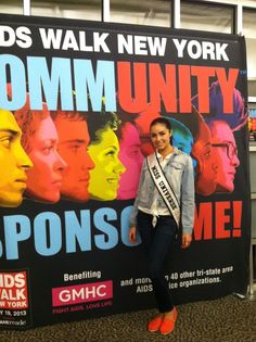 Thanks to Miss Universe, Olivia Culpo, for volunteering with us yesterday! We can't wait to see her on May 19 at the AIDS Walk! Register today to join her and thousands of others in Central Park against HIV/AIDS! http://aidswa.lk/ZeFqaX