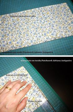 """""""Compartilhando passo a passos"""": """"PORTA OBJETOS"""" Bag Patterns To Sew, Quilt Patterns Free, Dress Sewing Patterns, Sewing Projects For Beginners, Sewing Tutorials, Projects To Try, Diy Scarf, Origami Box, Patchwork Bags"""
