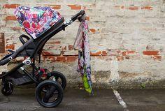 Ein Streetart-Kinderwagen im Großstadt-Dschungel: Der Britax affinity Jungle Boogie