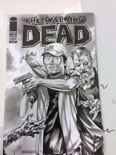 the walking dead in comic