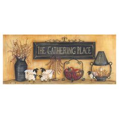 Wall Border Paper the big red neck trading post - antique shelf wall border, $19.99