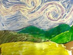 Van Gogh landscape paintings