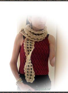 Women mohair scarf