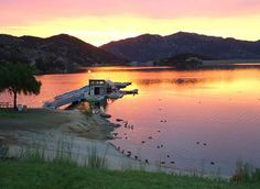 """Dixon Lake: Night fishing. """"night fishing is open at Dixon Lake on Thursday and Friday nights! The fish is stocked, the cool breeze is awesome... bring your family... heck... camp overnight and wake up to a gorgeous view!"""""""