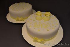 Sagan ristiäiskakut Baby Shower, Cake, Desserts, Food, Babyshower, Tailgate Desserts, Deserts, Kuchen, Essen