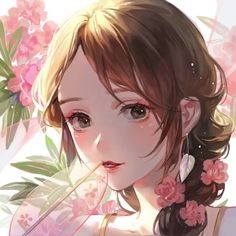 Find images and videos about anime girl on We Heart It - the app to get lost in what you love. Anime Chibi, Ange Anime, Anime Angel, Manga Kawaii, Kawaii Anime Girl, Anime Art Girl, Anime Girls, Art Manga, Manga Girl