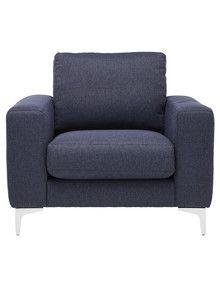 Luca Eva Chair Navy Product Photo Lounge Sofa Living Room Furniture Furniture