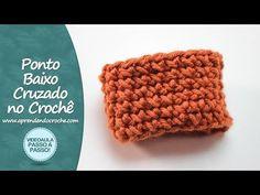 Ponto Baixo Cruzado no Crochê - Aprendendo Crochê - YouTube